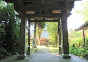 七尾にある山の寺寺院群の1つ「長齢寺(ちょうれいじ)」