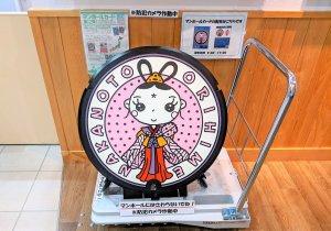 中能登町のマスコットキャラクター「おりひめ」のオリジナルマンホールカード配布中!【中能登町】