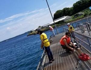 潮風を浴びながら海での釣りを手軽に楽しめる「海づりセンター」【能登島】