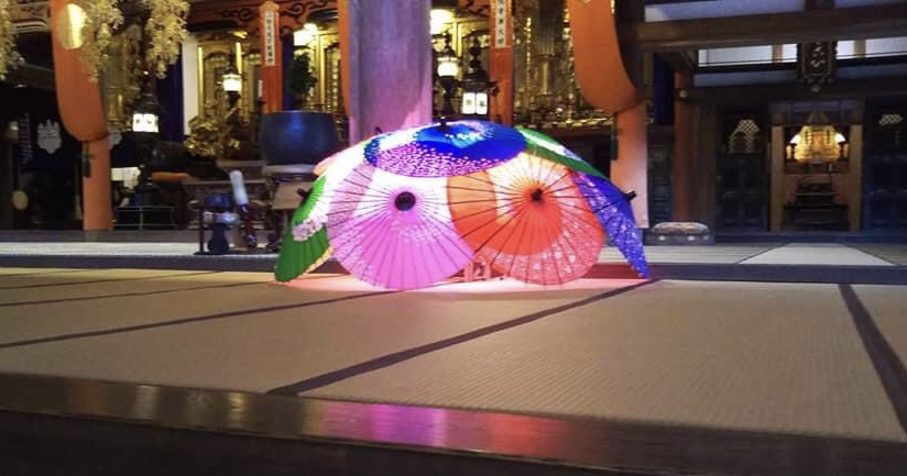 回廊を和傘と明かりで彩るイベント「wagasairo(ワガサイロ)和傘×回廊」大本山總持寺祖院【輪島市】
