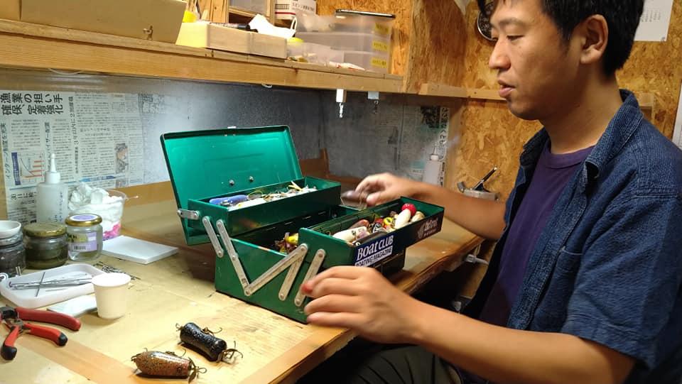 「釣り道具製作ハッサク工房」の手作りルアーで釣りを120%楽しむ!【宝達志水町】