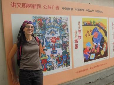 ulice Shanghaiu_streets of Shanghai