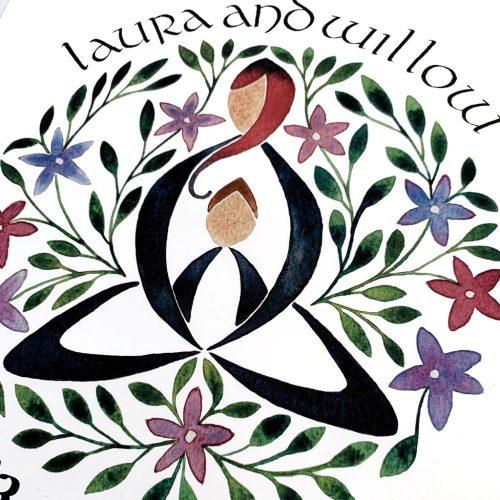 Celtic Motherhood Knot Cards and Prints