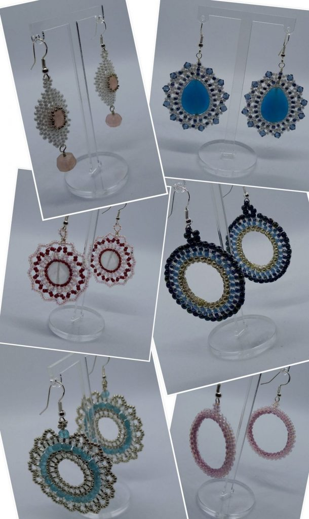Statement earrings, perfect for those special occasions