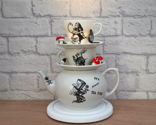 Alice In Wonderland Teapot Lamp from our Alice range.