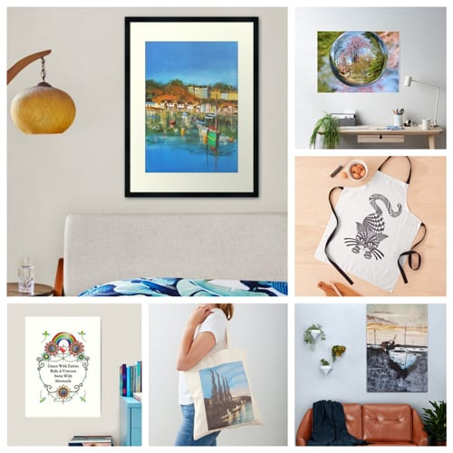 Painted And Doodle Artwork And Photography In My Redbubble Shop
