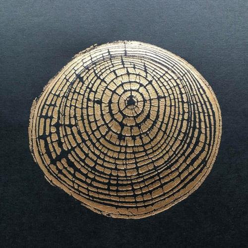 A print of An Ash Tree