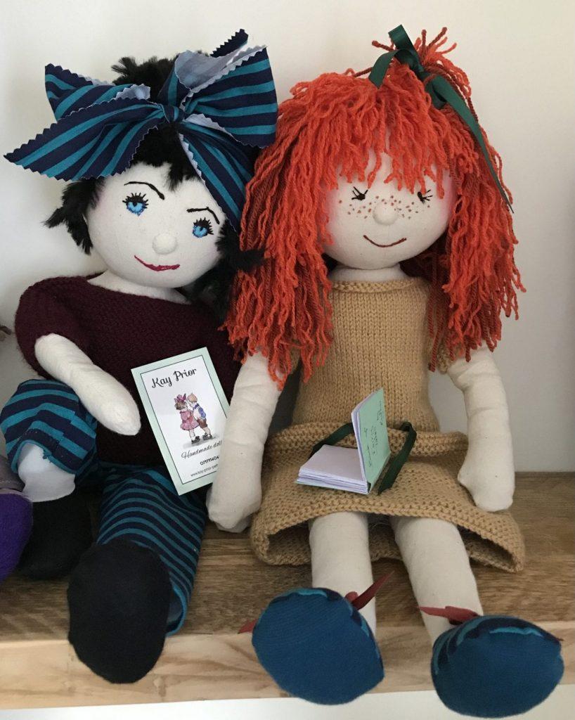 Handmade dolls by Kay Prior