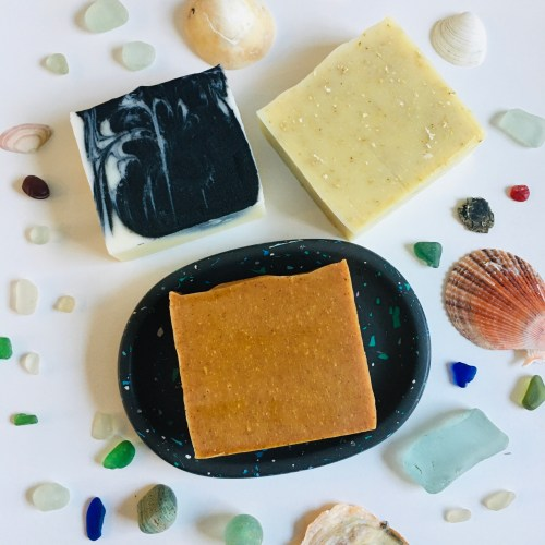 Glow Soaps and Soap Dish