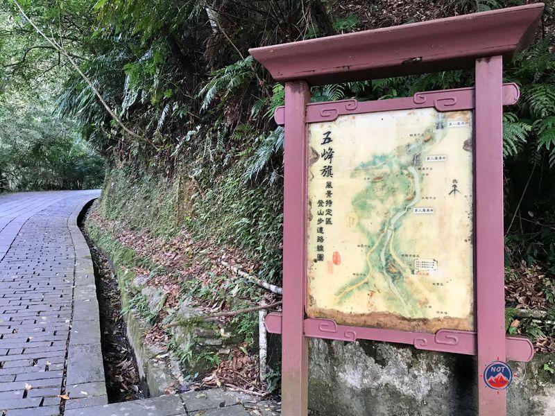 聖母山莊路線圖