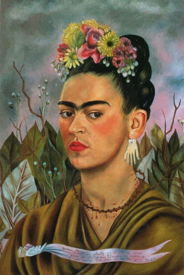 Frida Kahlo Portraits -notonlytwenty