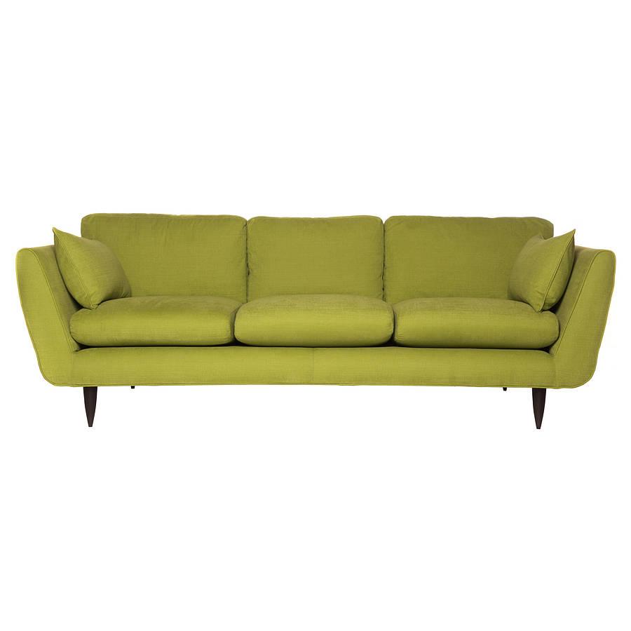 Retro Sofa By Couch Design  Notonthehighstreetcom