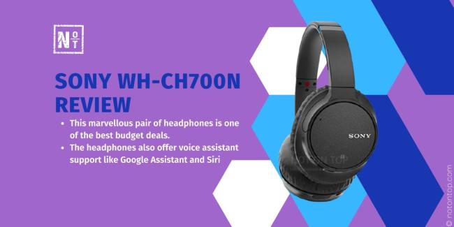 sony wh-ch700n review