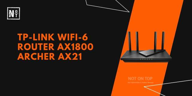 TP-LINK wifi-6 router AX1800 Archer AX21