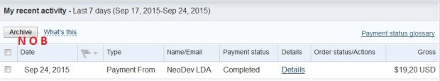 Neobux Payment Proof Sept 2015