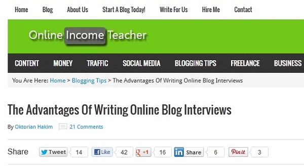 Featured OnlineIncomeTeacher