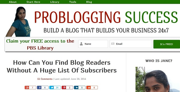 Featured ProbloggingSuccess1