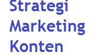 Strategi marketing konten