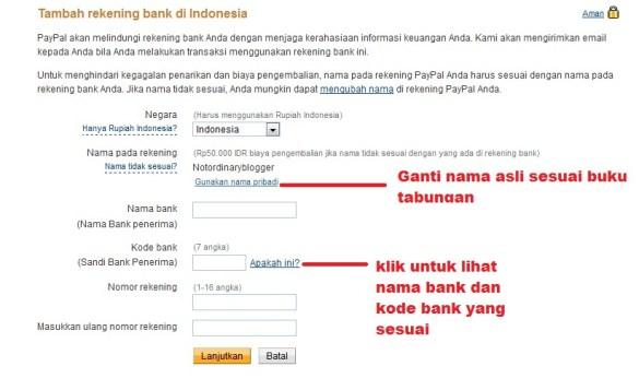 Cara Transfer Uang Paypal ke Rekening Bank di Indonesia 3