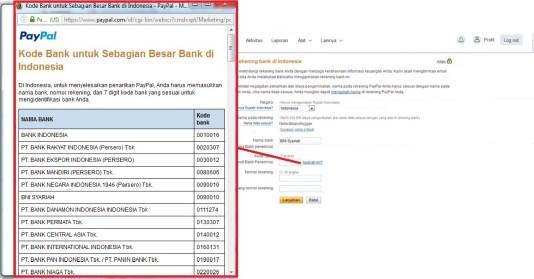 Cara Transfer Uang Paypal ke Rekening Bank di Indonesia 4