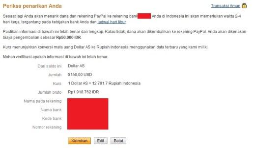 Cara Transfer Uang Paypal ke Rekening Bank di Indonesia 9