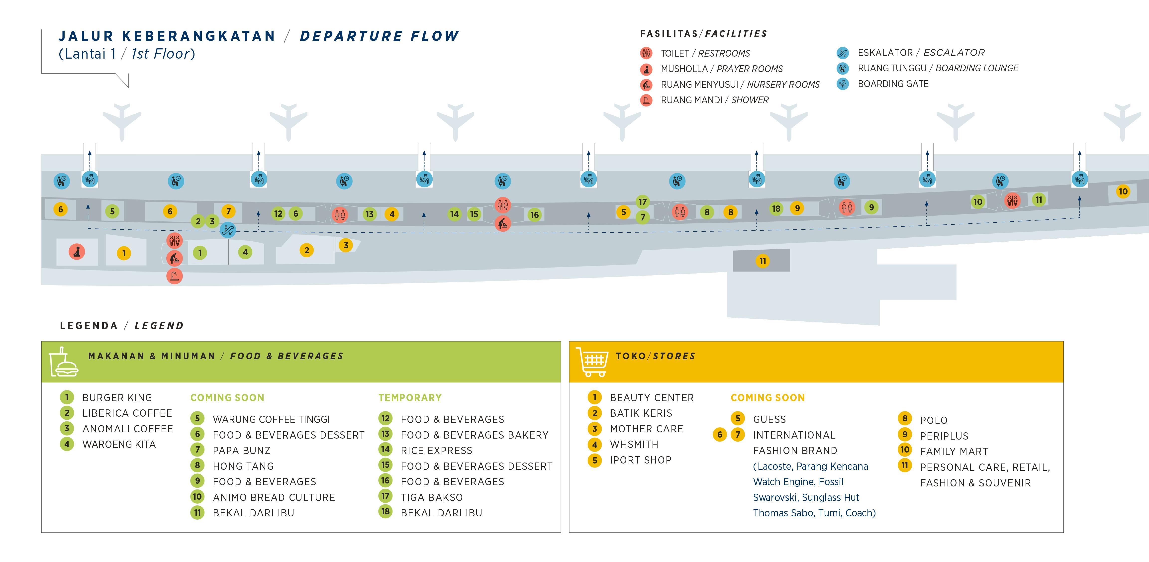 Peta Terminal 3 Bandara Soekarno Hatta I Notordinaryblogger