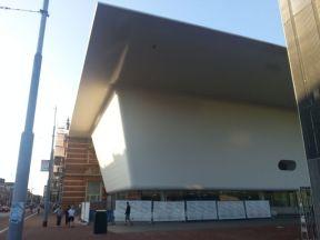 "The New Stedelijk, already known as ""The Bathtub"""