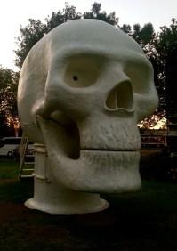 Wellness Skull; Joep van Lieshout