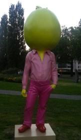 Big Pumpkin; Erwin Wurm