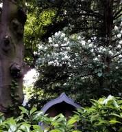A hidden love seat at Garden 8