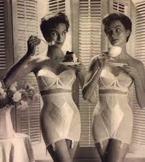 undergarments 1950's