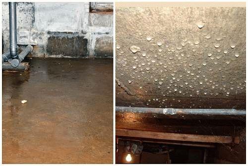 как высушить подвал в гараже