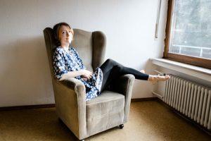 Full color portrait of German flat advocate Kerstin Grotelüschen of AMSOB