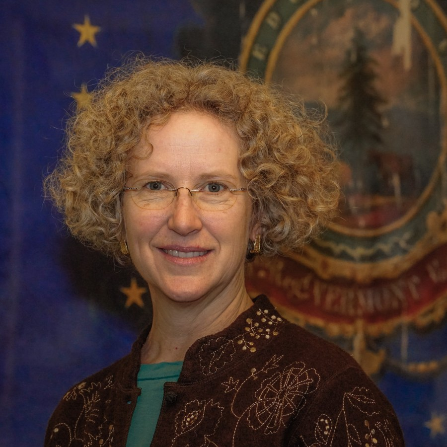Full color portrait headshot flat advocacy nonprofit Not Putting on a Shirt NPOAS Advisory Council member Rep. Charen Fegard Vermont