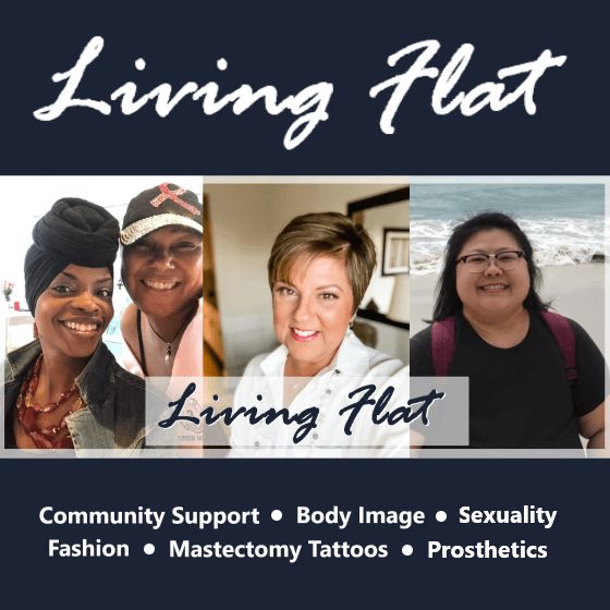 Living Flat after mastectomy photos  information and resources