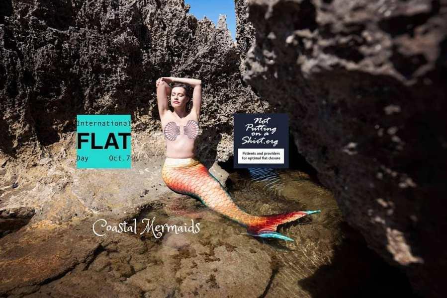 Coastal Mermaids flat mermaid calendar fundraiser