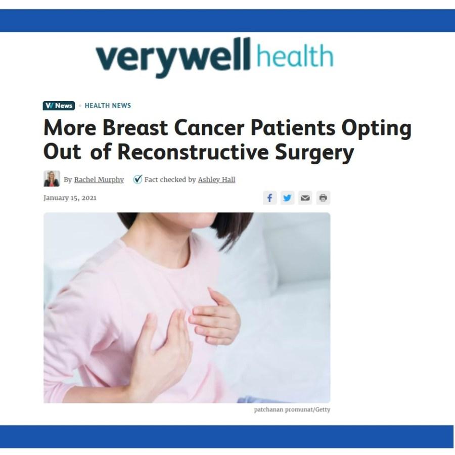 VeryWell Health - Article on Aesthetic Flat Closure