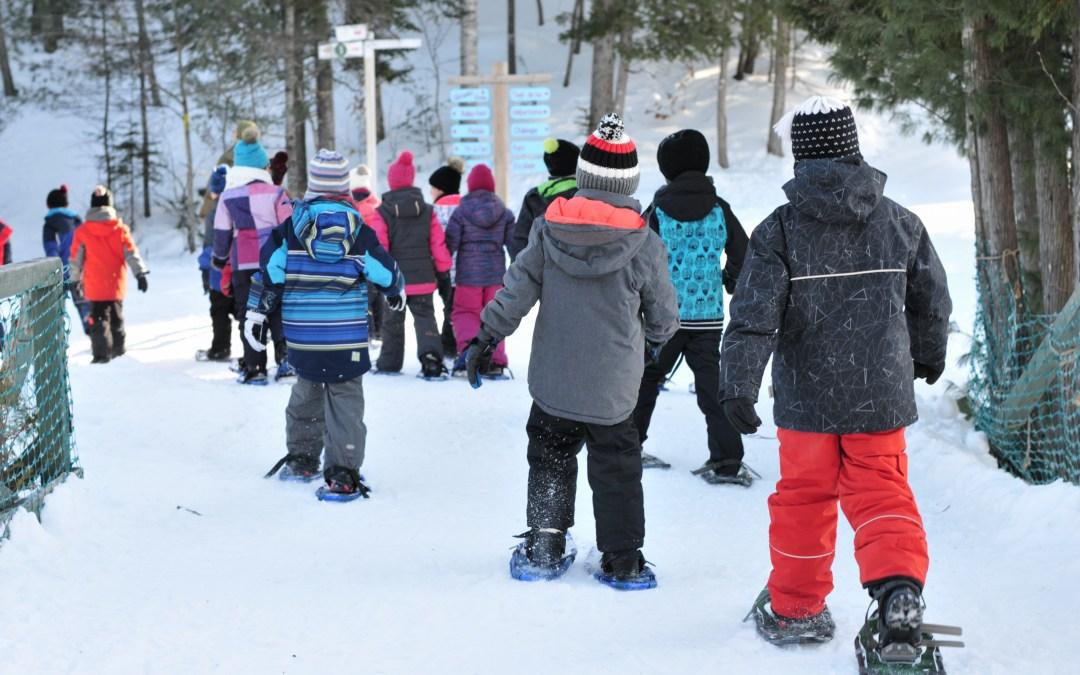 Classe neige pour les élèves de 3e année