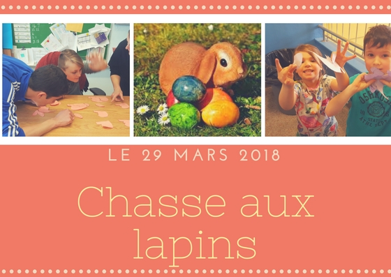 29 mars 2018 – Chasse aux Lapins
