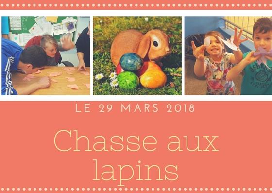 29 mars 2018 – Chasse aux Lapins