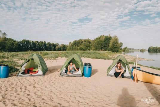 Aventure en Canoe