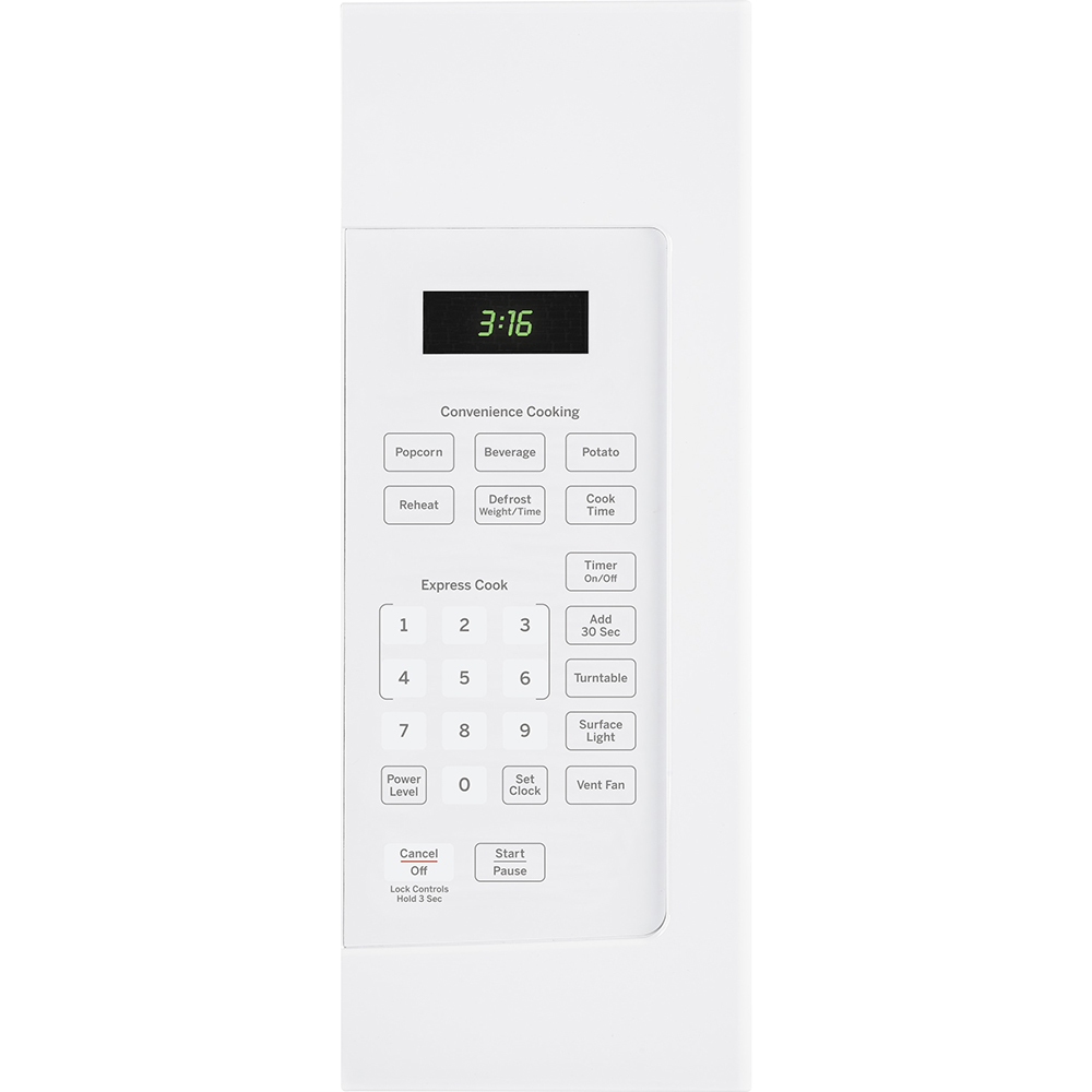 ge 1 6 cu ft over the range microwave white jvm1630wfc
