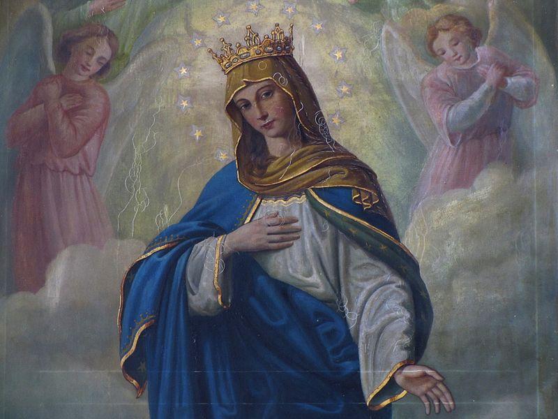 Samedi 8 décembre 2018, fête de l'Immaculée Conception de Marie : messe à 11h à Notre-Dame du Port