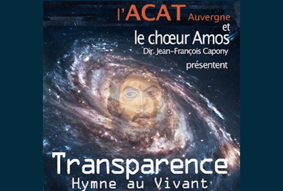 Concert « Transparence, hymne au Vivant » le samedi 23 juin à 20h30 à Saint-Genès-les-Carmes