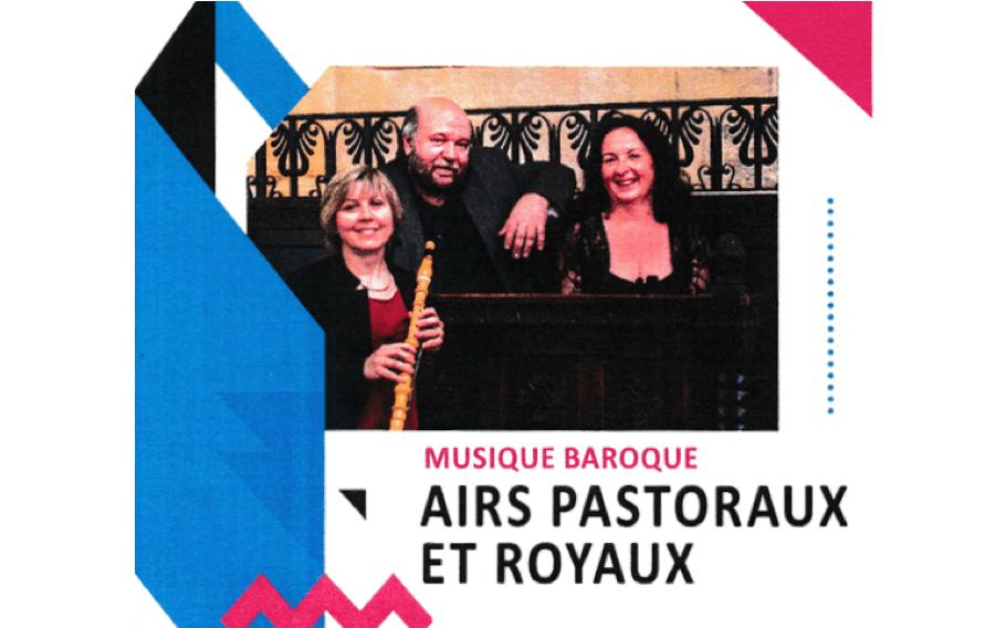 Concert « Airs pastoraux et royaux » le mardi 12 juin à 20h30 à Saint-Genès-les-Carmes