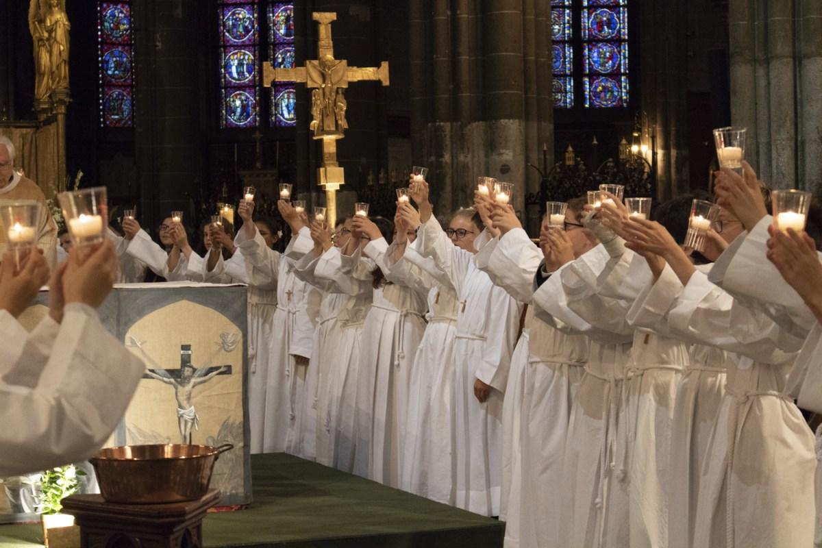 En cette fin d'année scolaire, beaucoup de célébrations ont lieu dans la paroisse