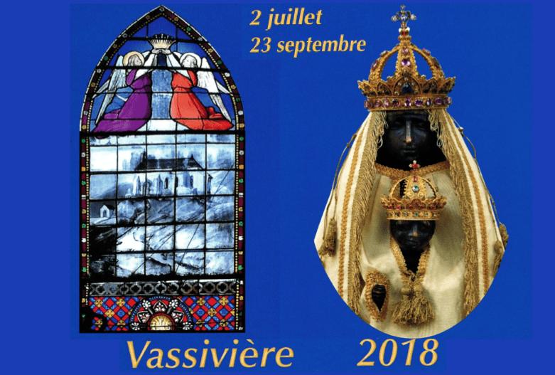 Clôture du pèlerinage 2018 à Notre-Dame de Vassivière : « Fête de la Dévalade » le 23 septembre présidée par Mgr François Kalist
