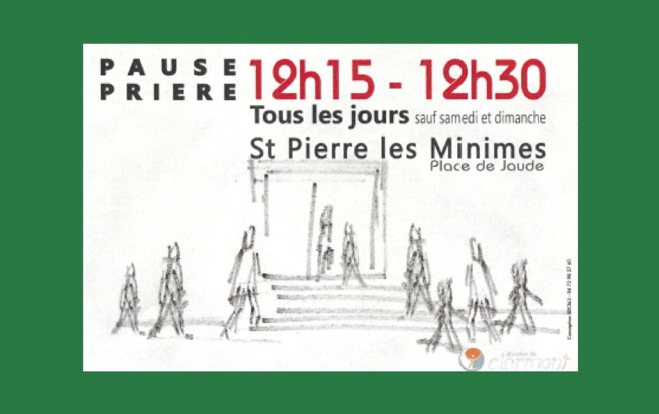 « 15 minutes pour Dieu » : une pause avec Dieu en milieu de journée au coeur de Clermont-Ferrand