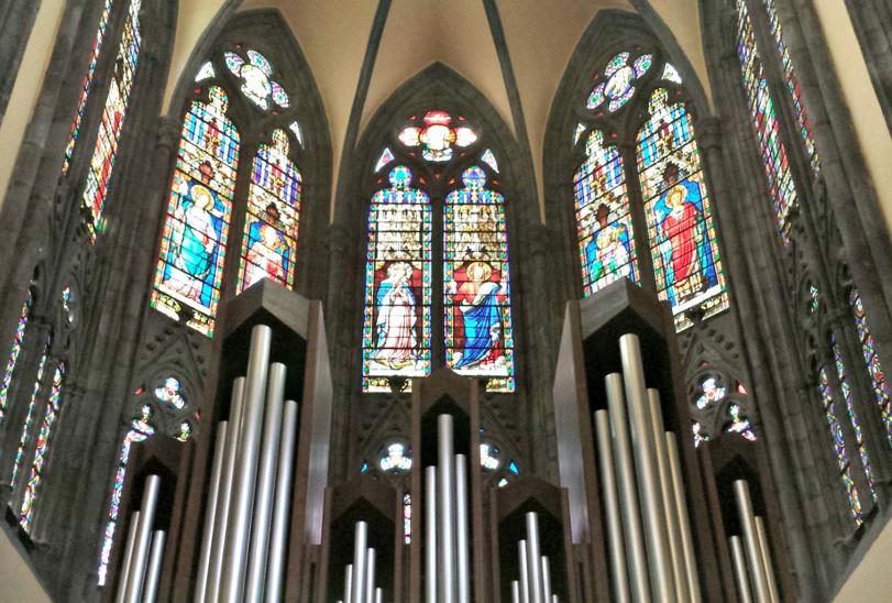 Chorale pour la messe de Minuit à l'église Saint-Eutrope