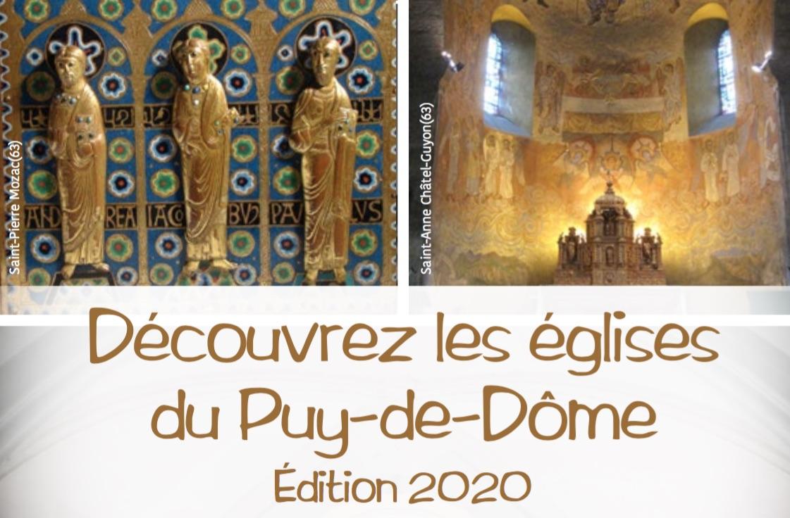 Profitez de l'été 2020 pour découvrir les principales églises du Puy-de-Dôme